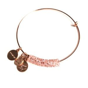 Alex and Ani Champagne Bubbles Bracelet